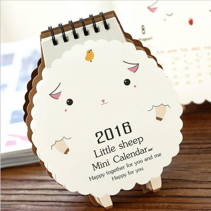 Kalender Meja Custom