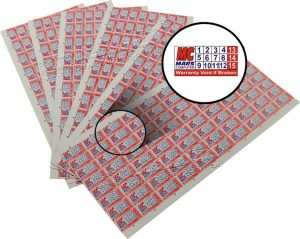 Sticker Label Garansi