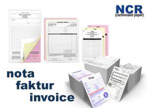 Nota Faktur Invoice Memo