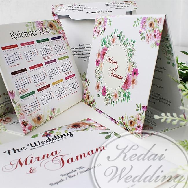 Kalender Undangan Pernikahan